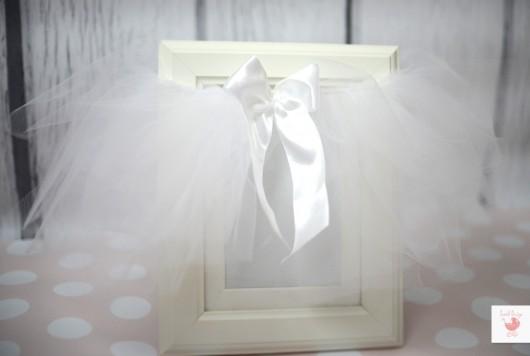 dziewczynka - moda - spódniczki-Biała spódniczka niemowlęca