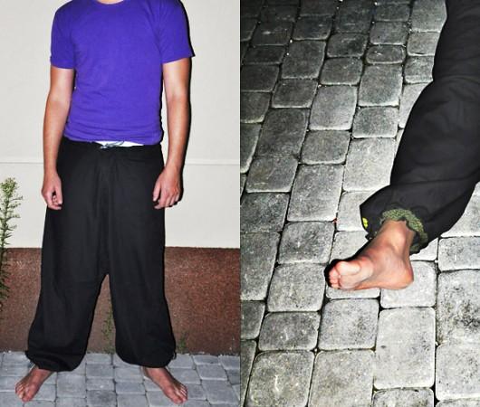 spodnie - pumpy-spodnie Green Session M męskie