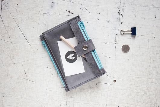 pokrowce i etui-Portfel - Pocket BIG / Gray SKY