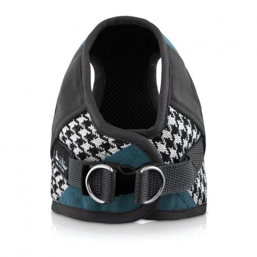 dla zwierząt-Szelki Fashion niebieskie  dla psa/kota