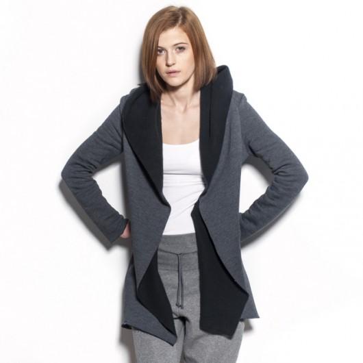 kurtki i płaszcze-Płaszczyk dresowy