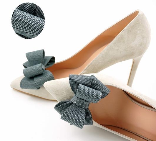 buty-Kokardki 3D Elegant- klipsy do butów
