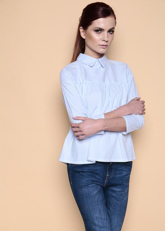 bluzki - tuniki-Bluzka w paski