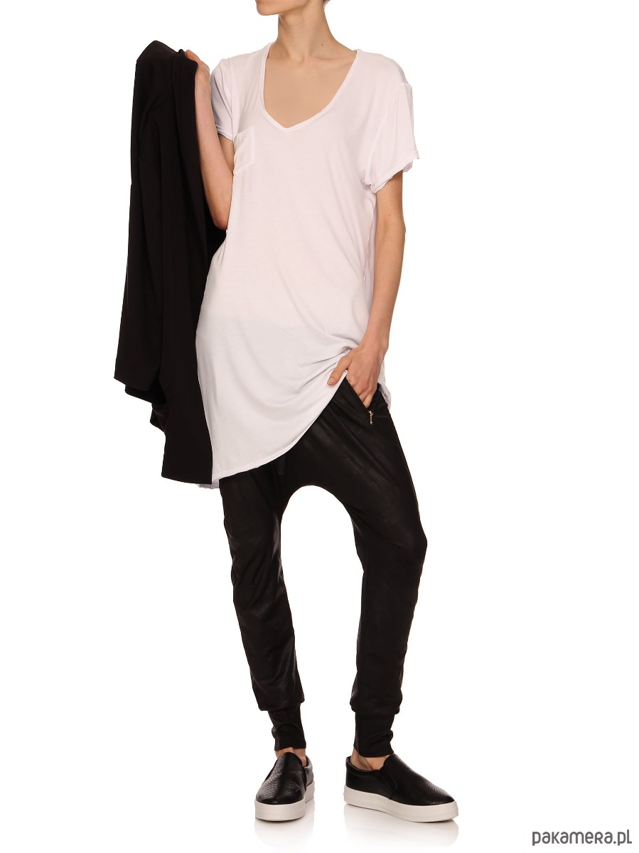 T-shirt biały YY500206_RAL9003