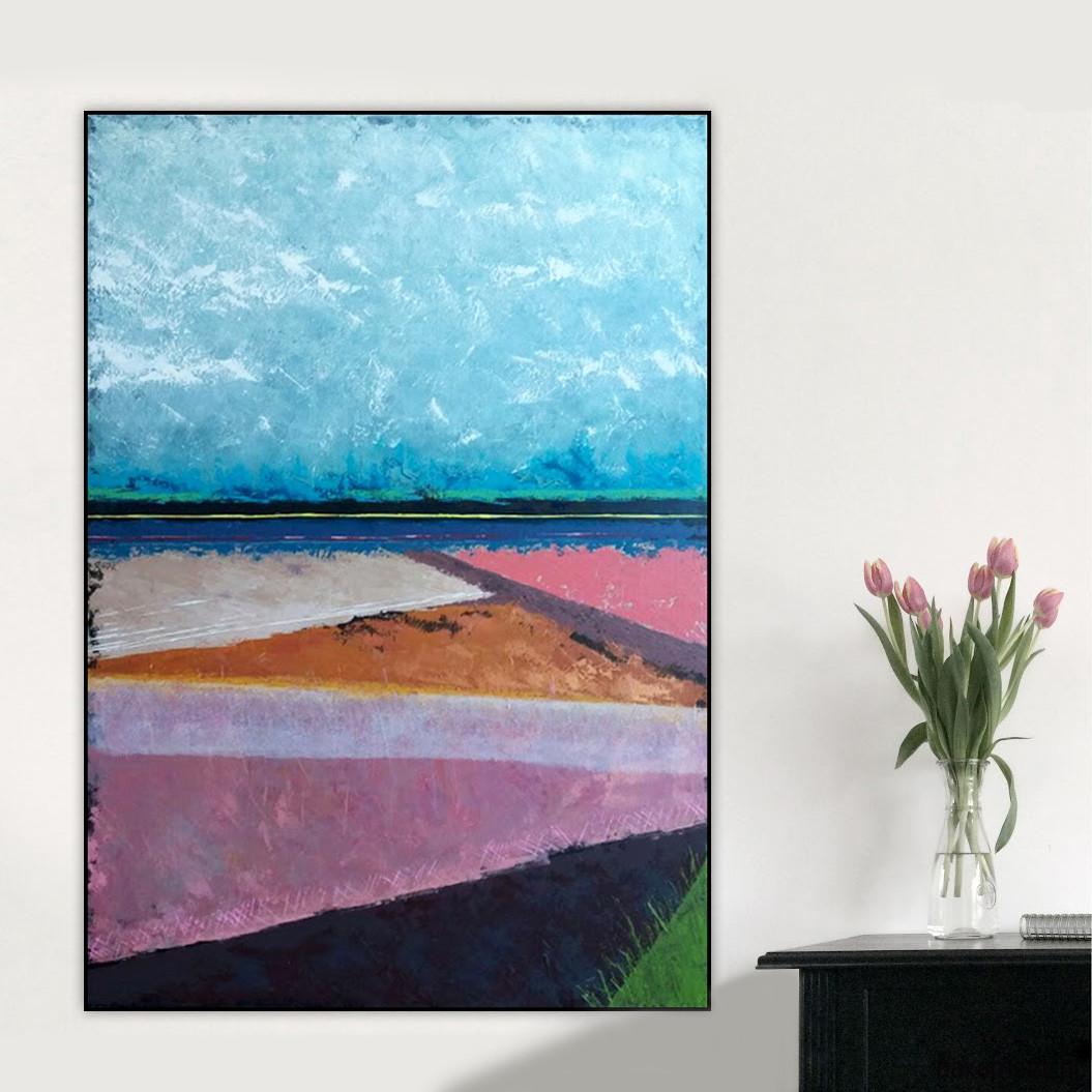 Płótno 100x140 Cm Obraz Farbami Akrylowymi Malarstwo Pakamerapl