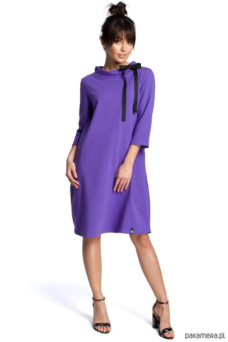 Wygodna sukienka z kieszeniami