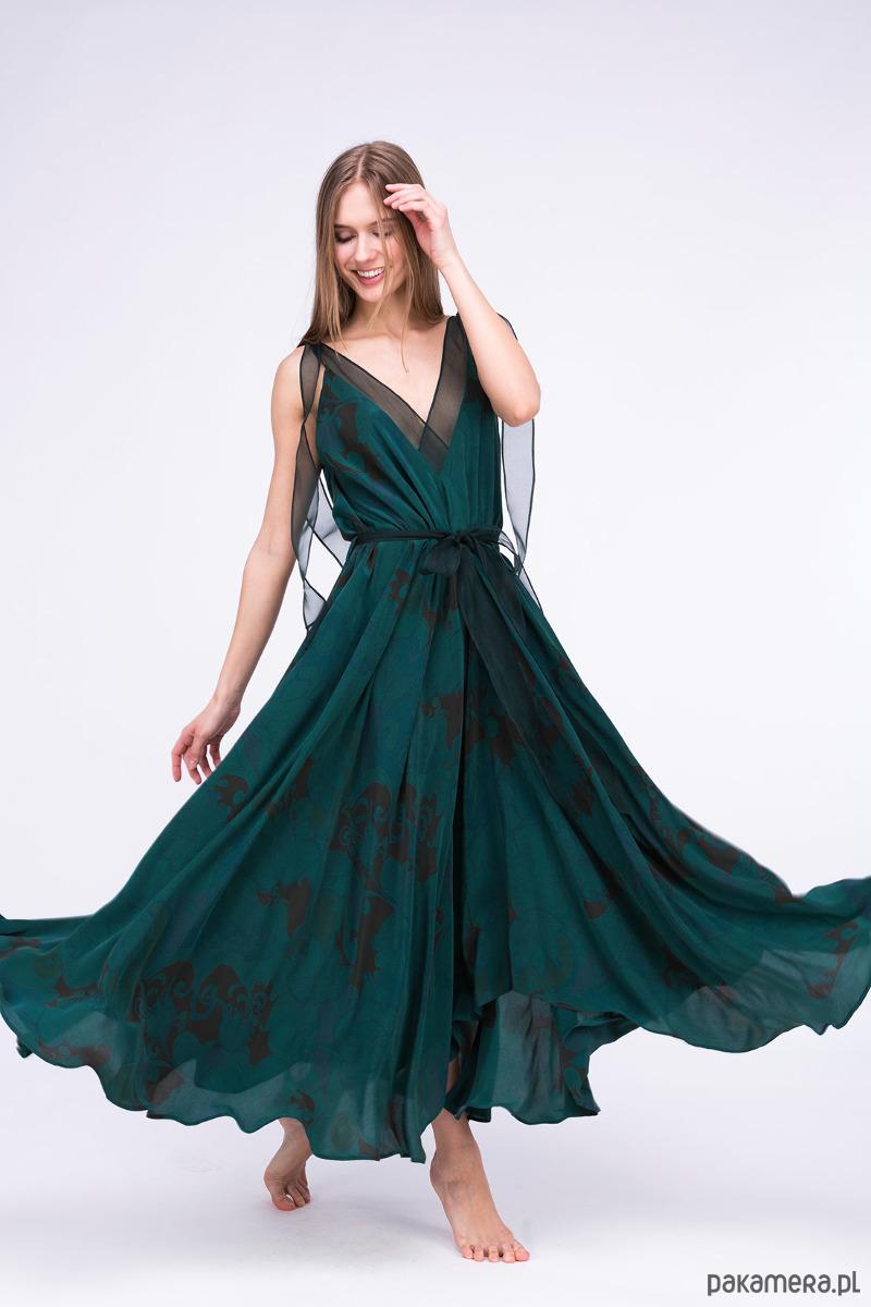 Sukienka RIAMA Emerald