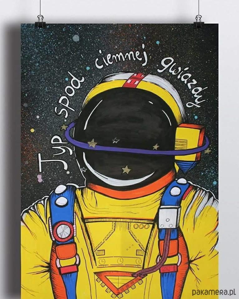 Kosmonauta Typ Spod Ciemnej Gwiazdy A3 Pakamerapl