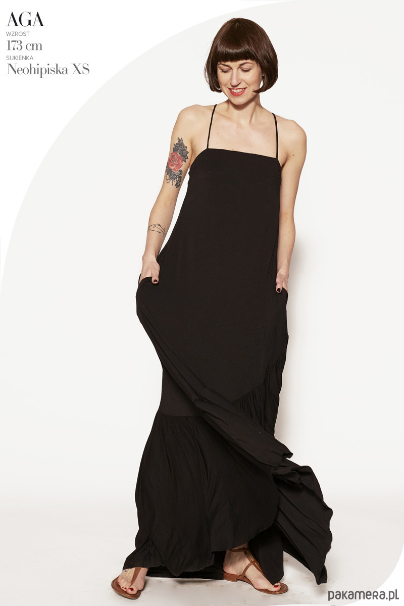 Sukienka maxi NEOHIPISKA black