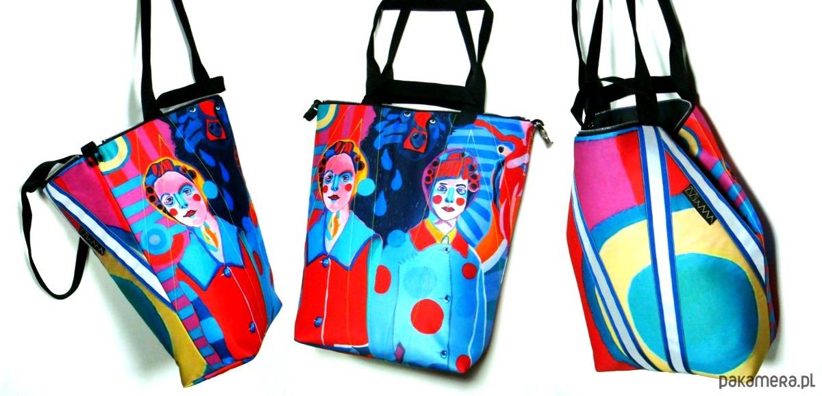 0586_2 art MIMA bag UNI & Marcin Painta print - 2027031