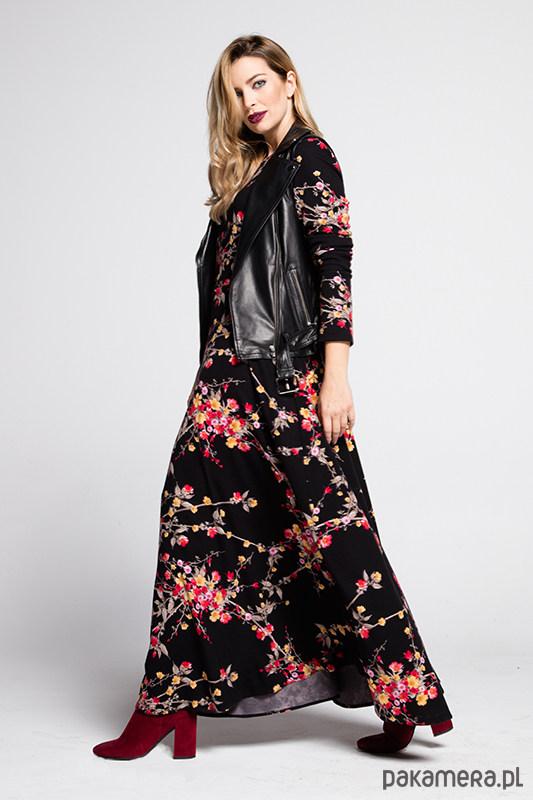 Sukienka w kwiaty Alma
