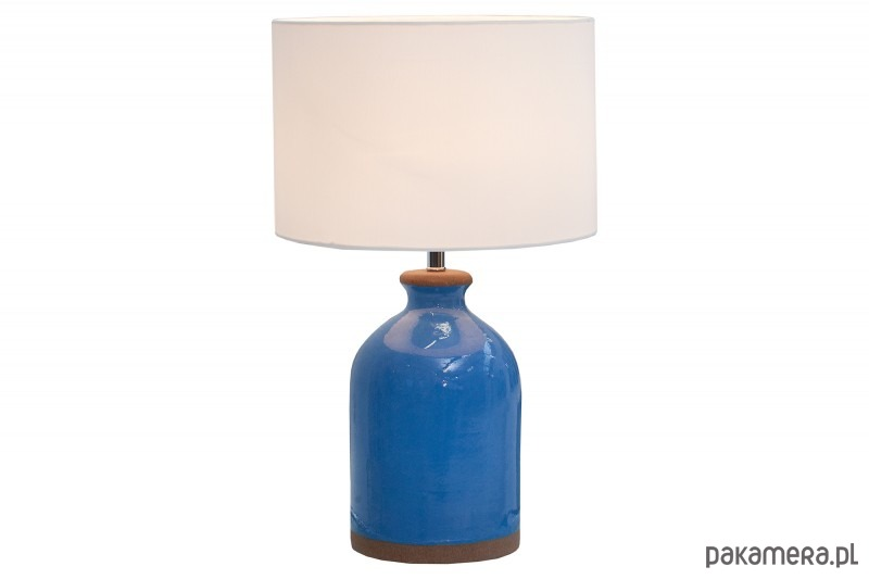 Lampa Stołowa Blue Classy Ceramiczna 60cm Lampy Stołowe