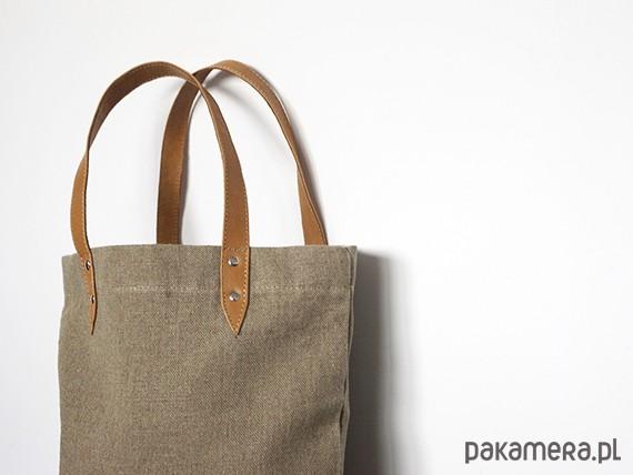 fd33a8d56cade Torba lniana - torby na zakupy - unisex - Pakamera.pl