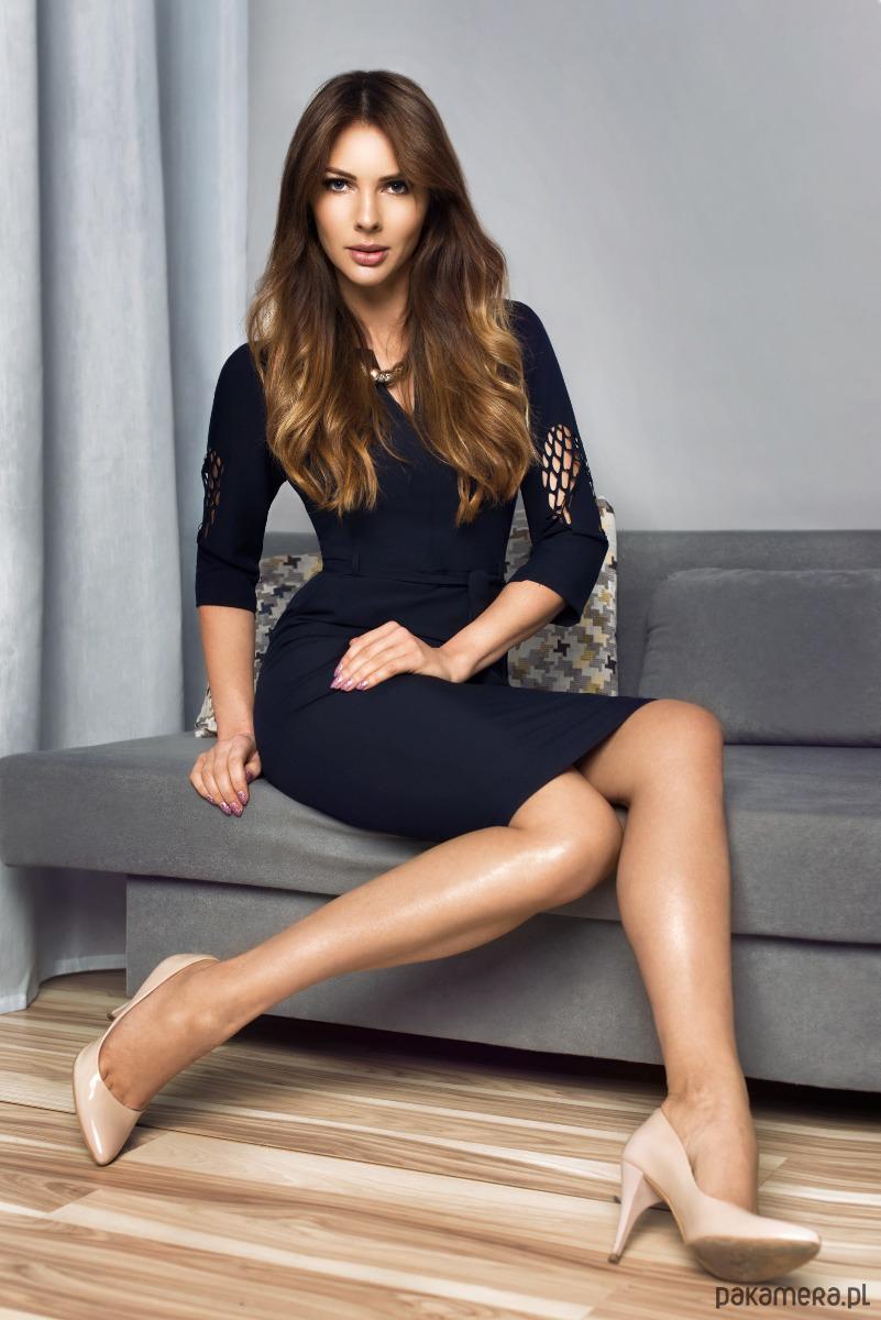 Sukienka Patrizia Angel Granatowa