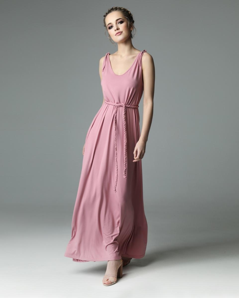 Sukienka Etta - dirty pink