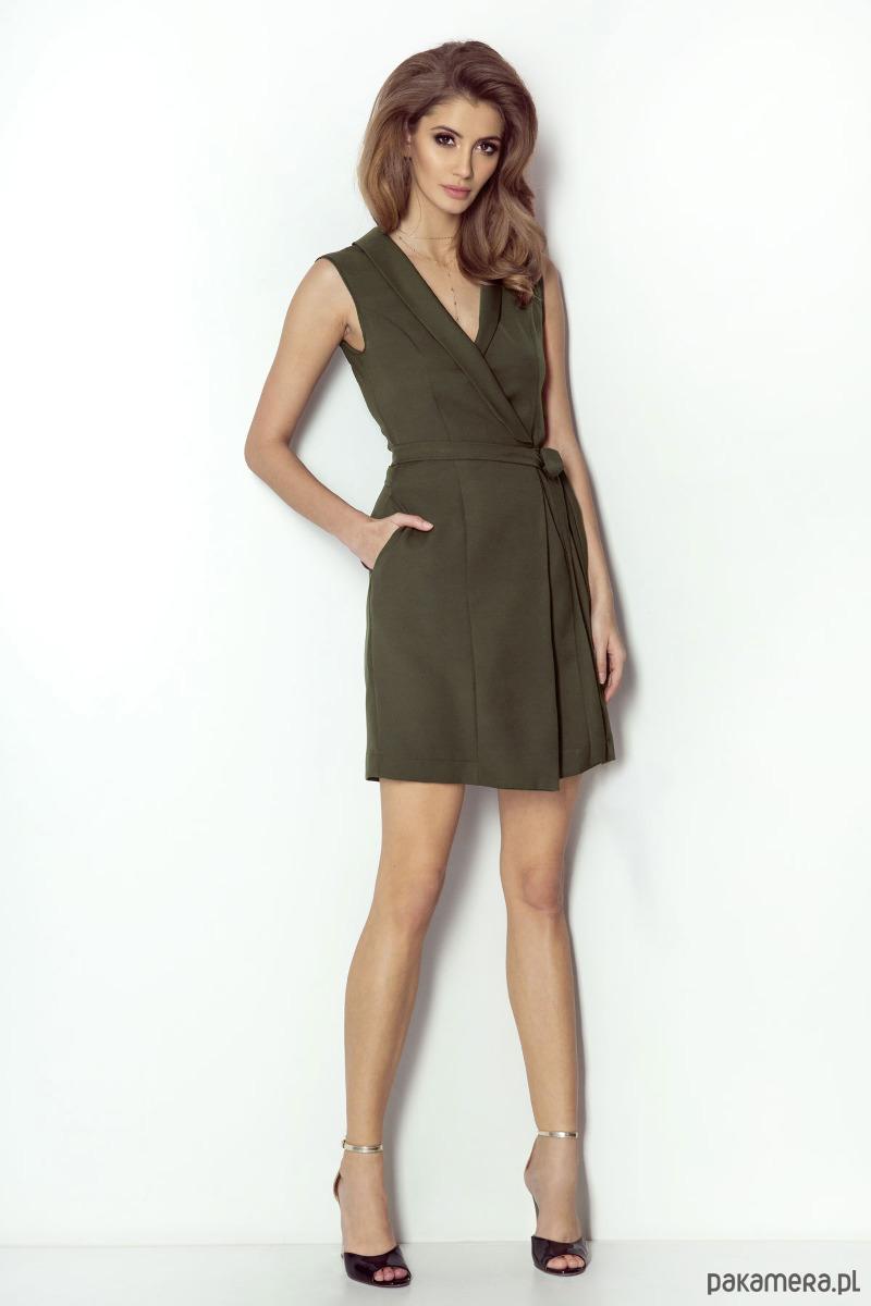 Sukienka Suzanne-khaki