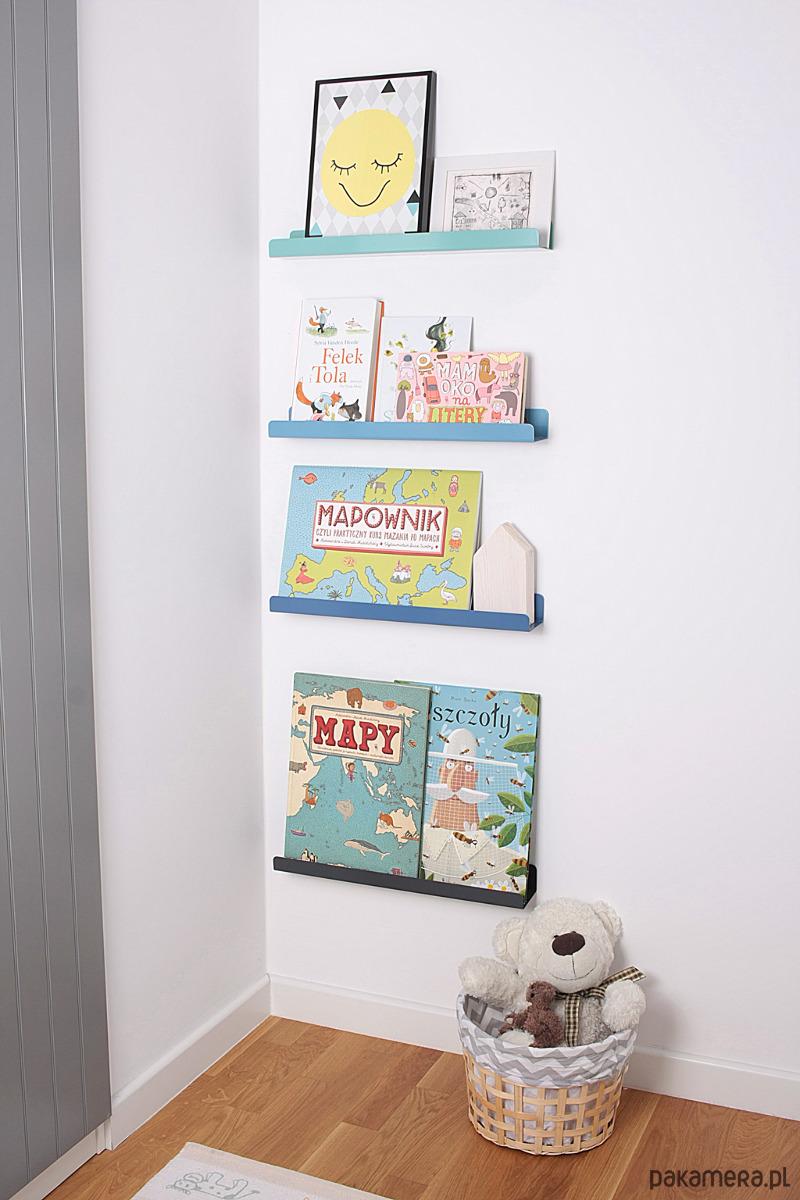 Półka Na Zdjęcia Książki Zabawki Grafitowa Pakamerapl