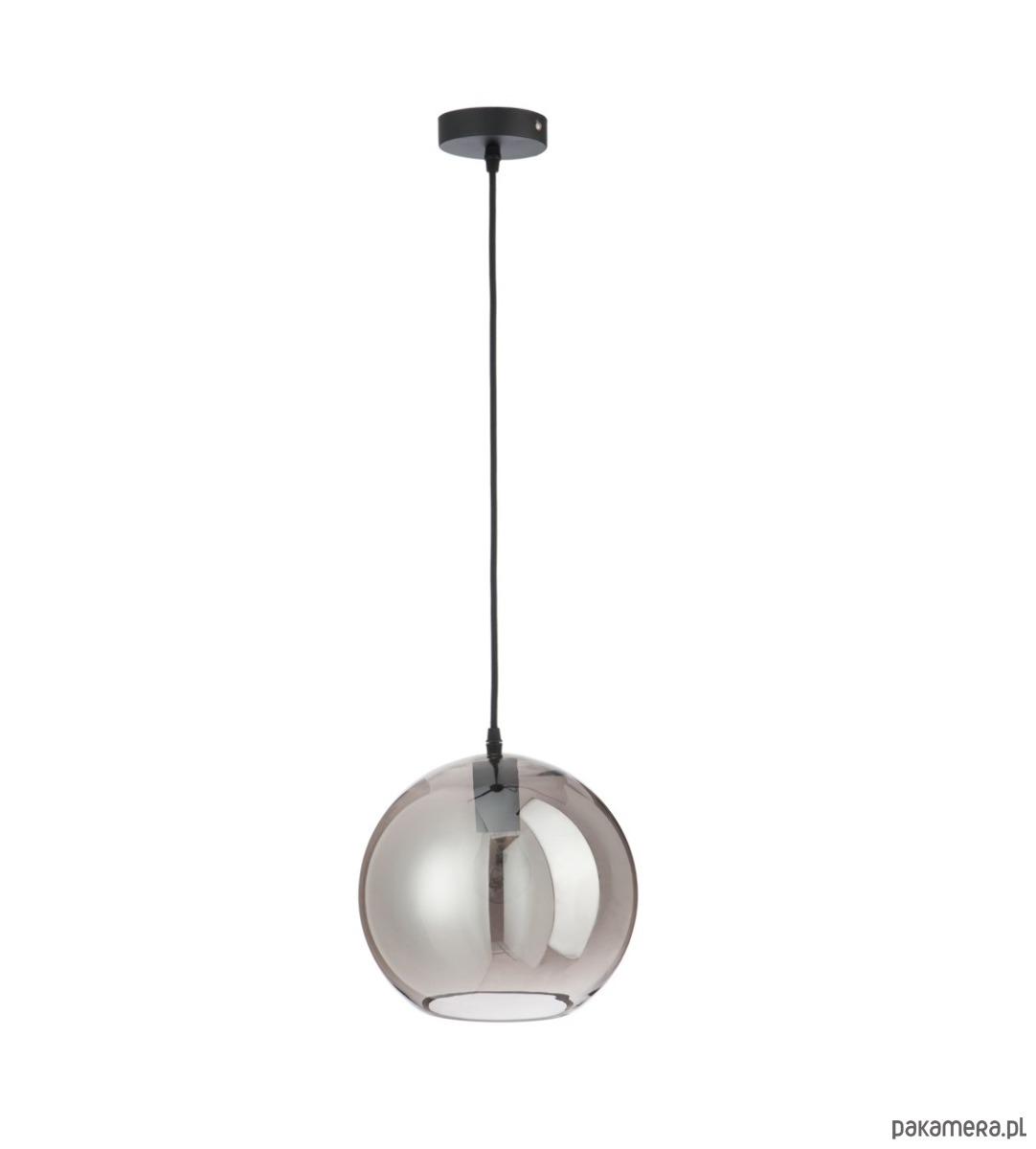 Lampa wisząca Ball, szklany klosz, 210x25x25 cm