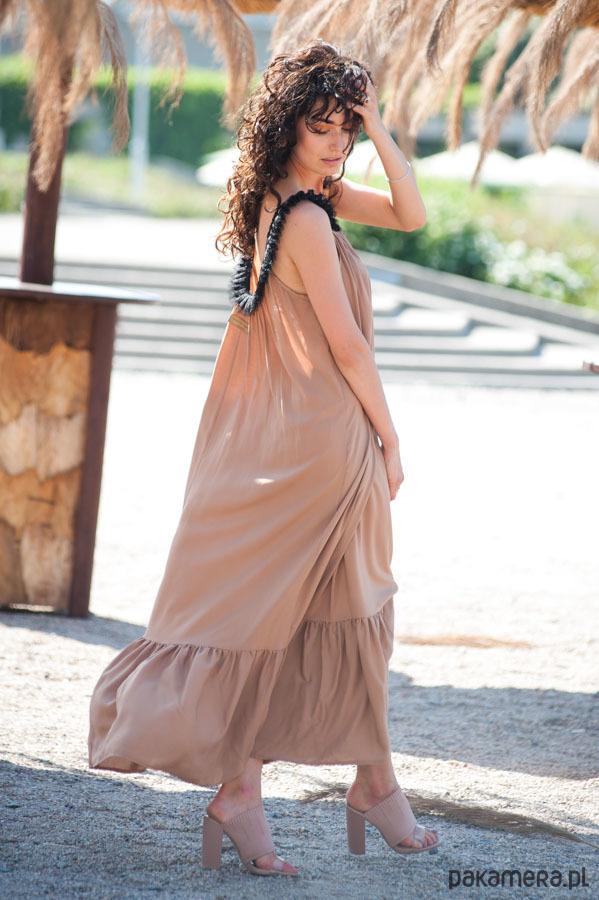GODDESS cudowna długa suknia