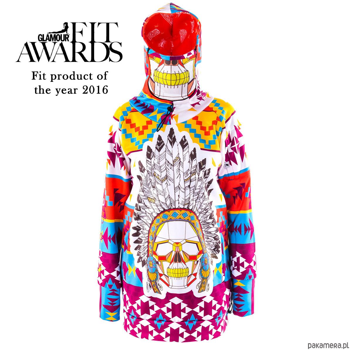 Navajo bluza damska z kapturem i wymienną maską