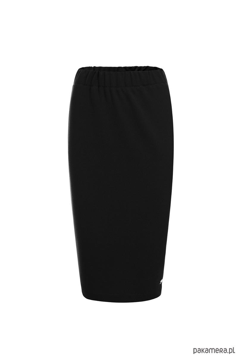 Czarna spódnica na gumce basic