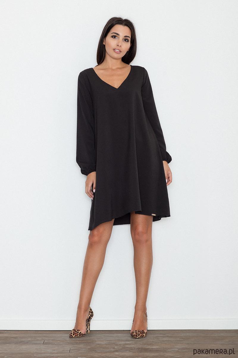 Sukienka M566 czarny