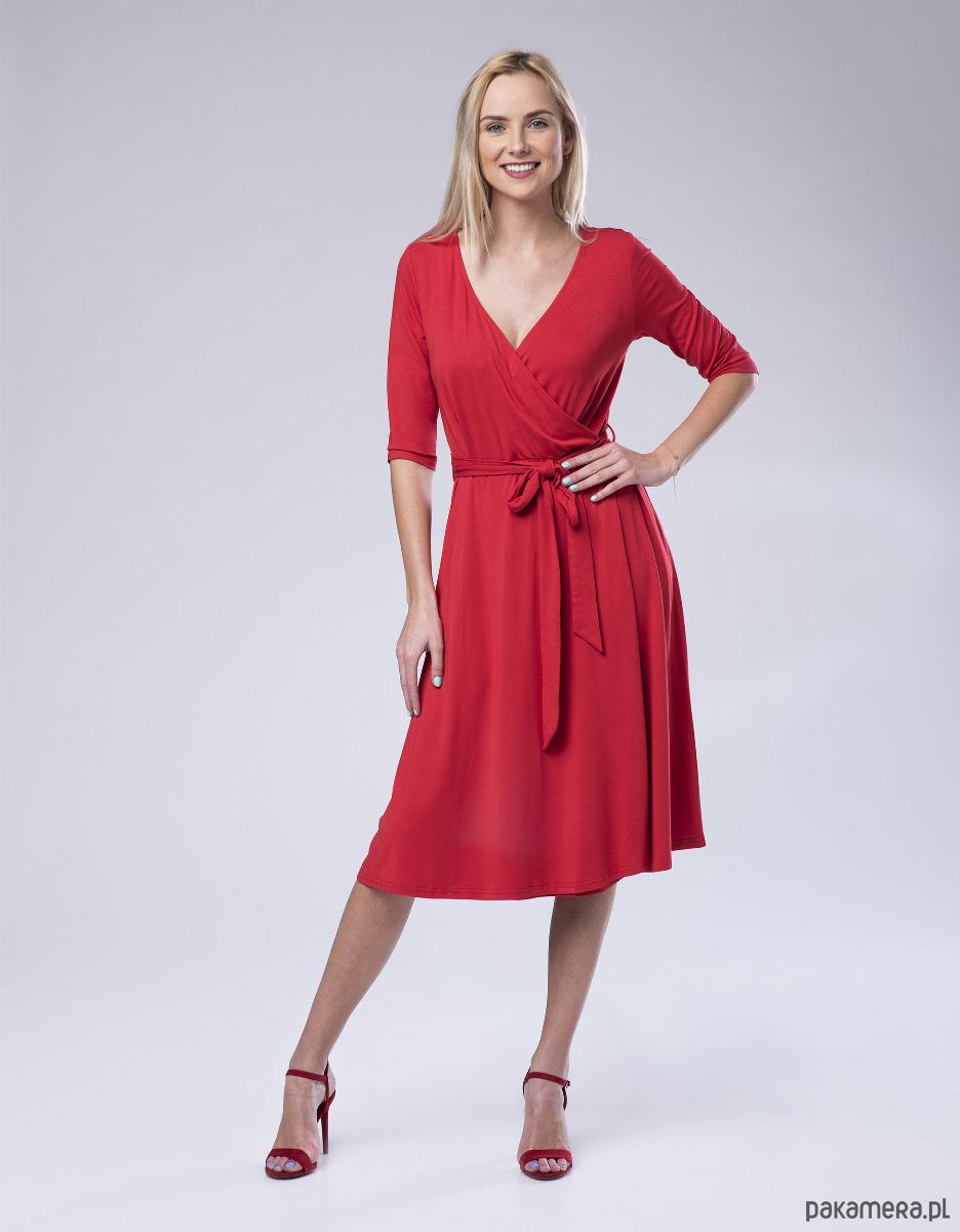 Sukienka kopertowa Leyla LOOK20