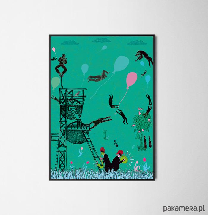 Magiczny śląsk 50x70 Cm Pakamerapl