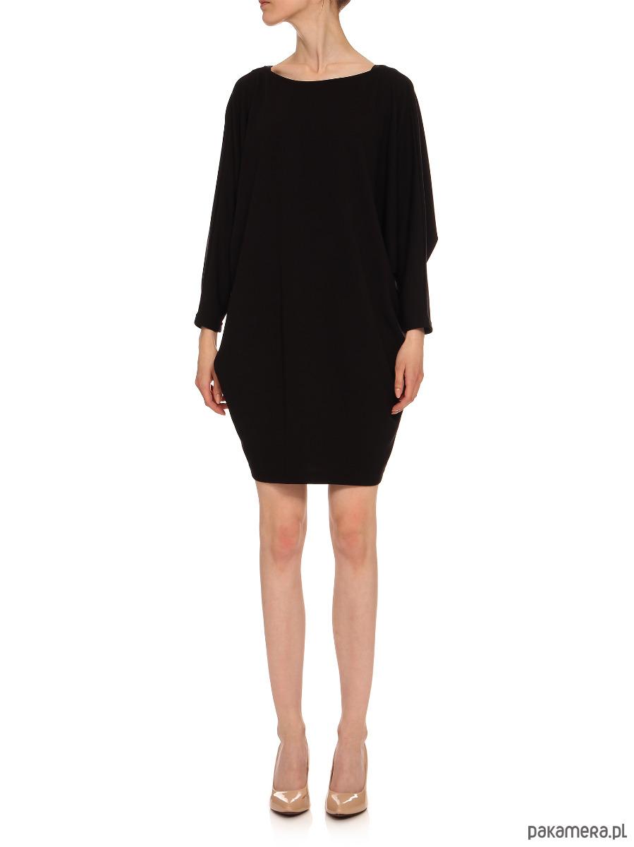Sukienka czarna YY100090_RAL9005