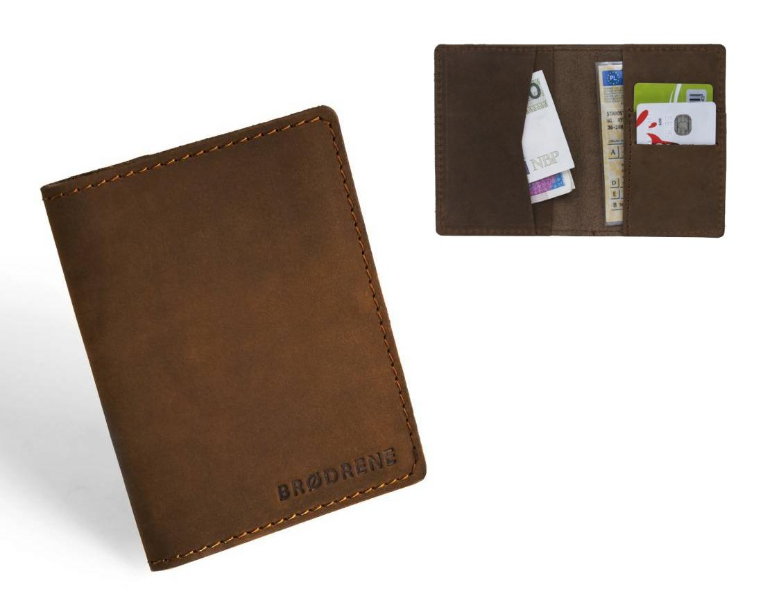05f3c2e7ff284 akcesoria - portfele-Super cienki portfel Brodrene SW05 Slim wallet