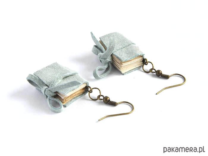 3de575d58c618a kolczyki książki - kolczyki - inne - Pakamera.pl