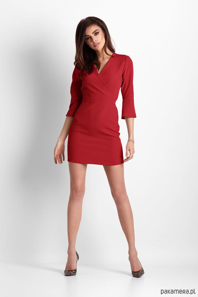 149308fc88 SUKIENKA BLANCHE - czerwona - sukienki - mini - Pakamera.pl