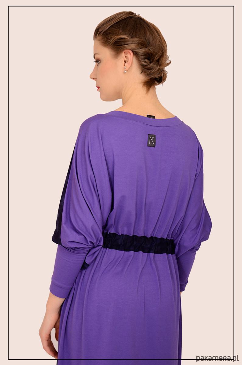 kimonowa sukienka