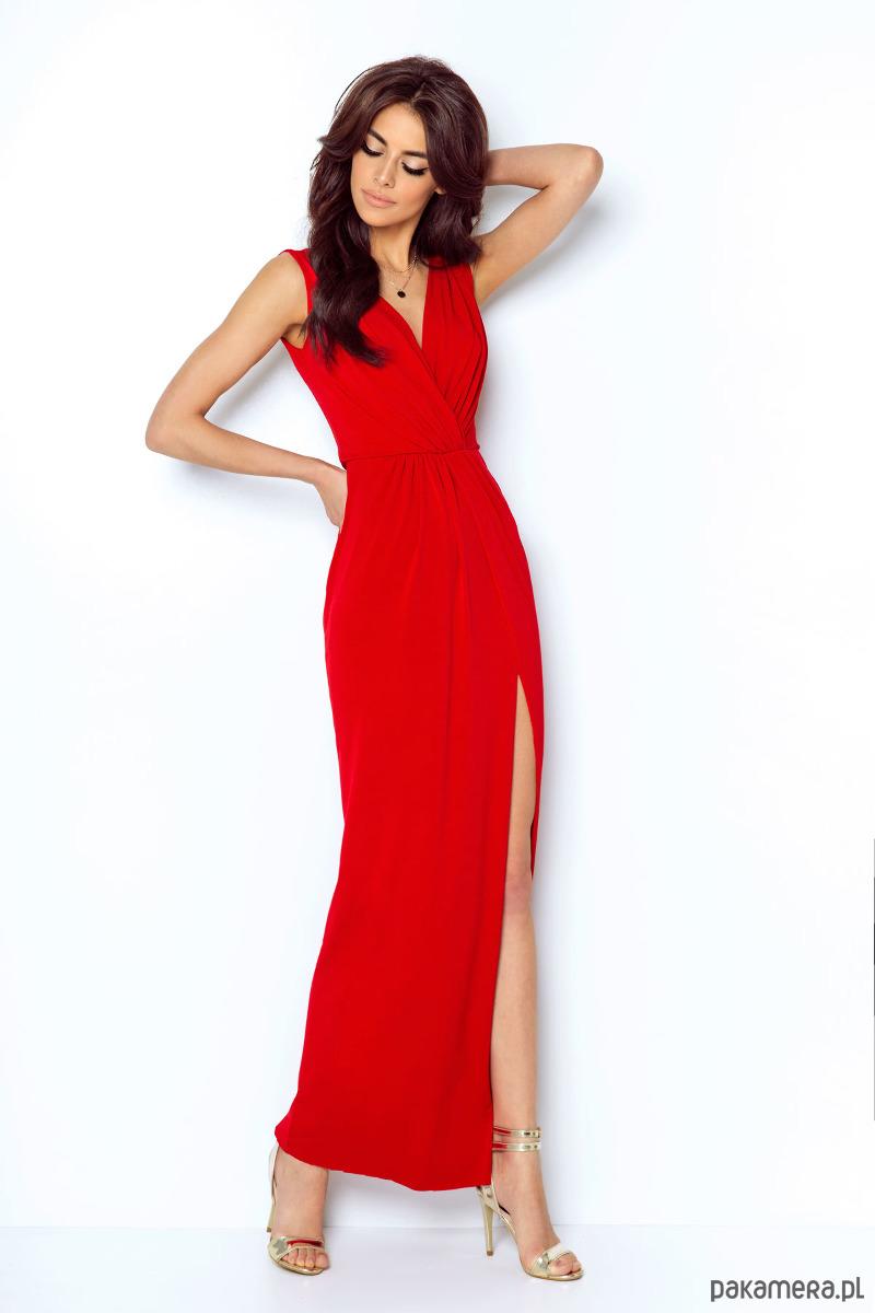 9a9d52605b SUKIENKA DALIA czerwony - sukienki - maxi - Pakamera.pl
