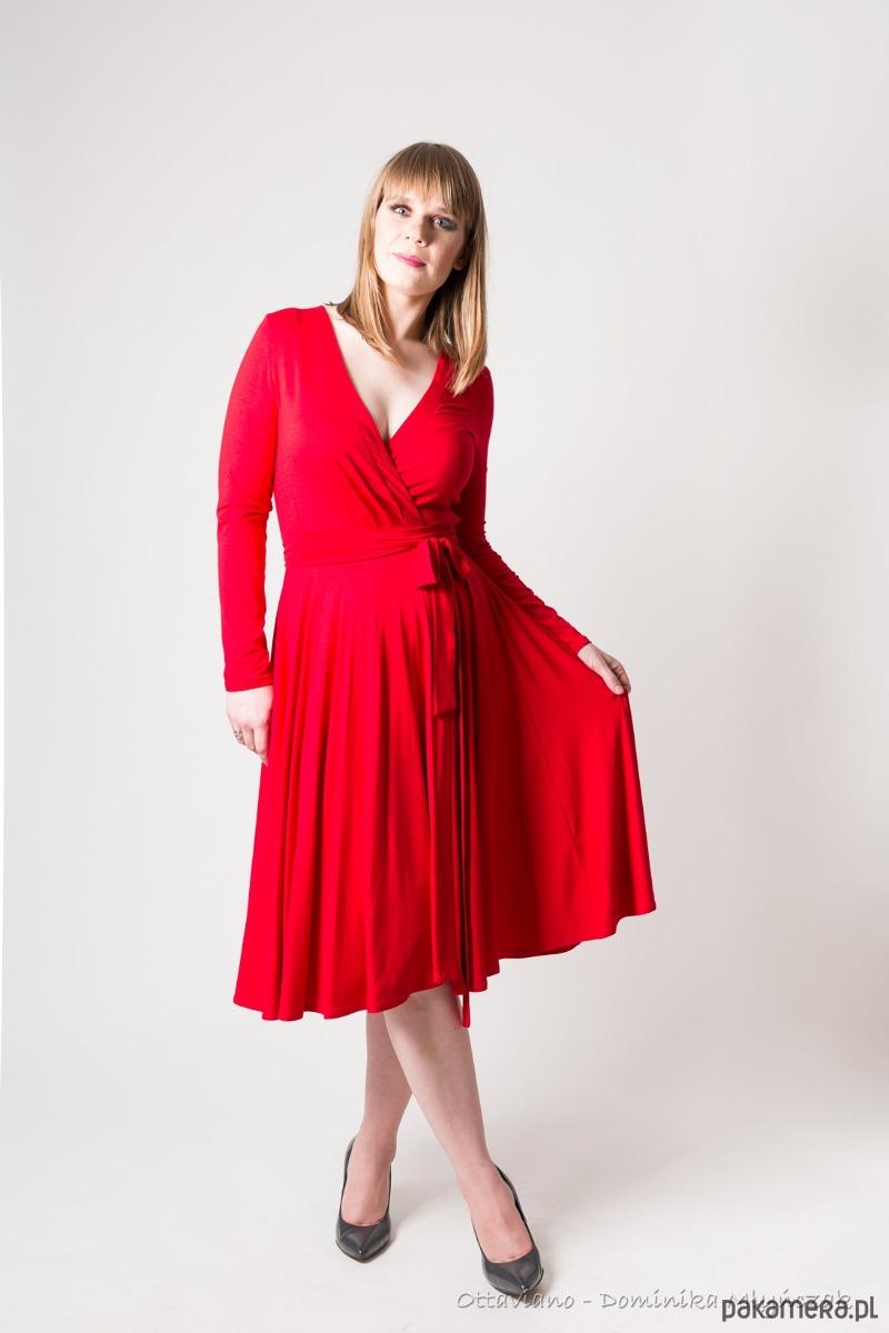 ZAŁÓŻ SIĘ kopertowa sukienka różne kolory