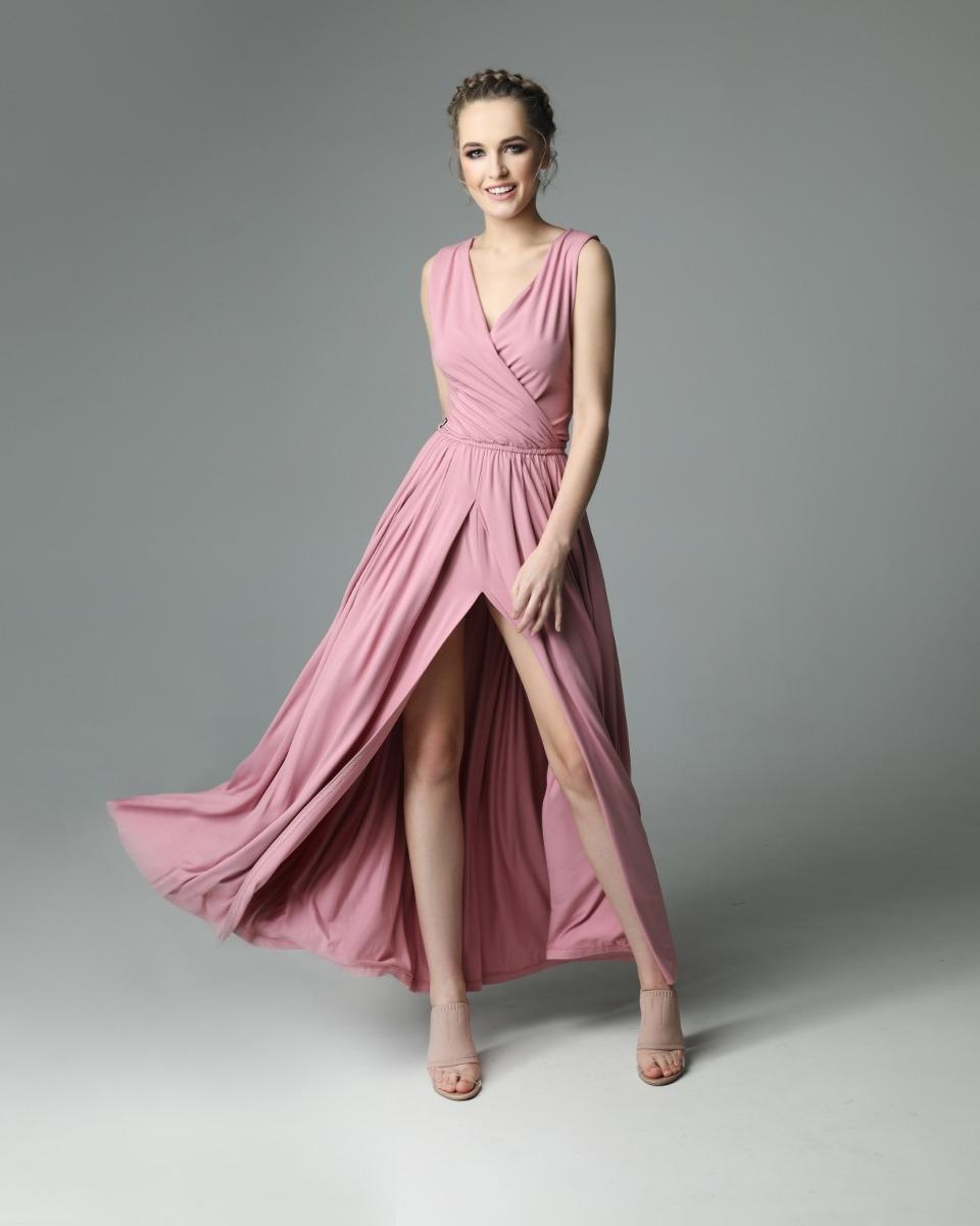 Sukienka Andrea - dirty pink