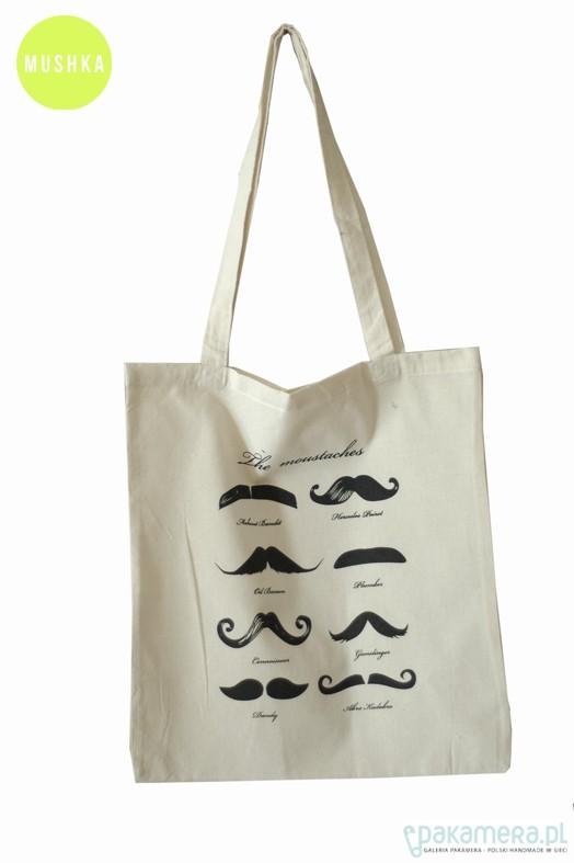 99fe85694ec36 wąsiasta EKO torba  ) - torby na zakupy - damskie - Pakamera.pl