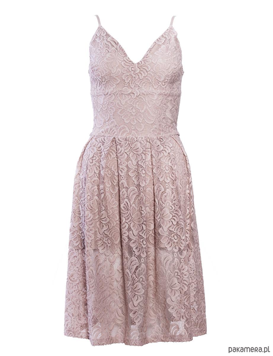 Sukienka koronkowa na ramiączkach