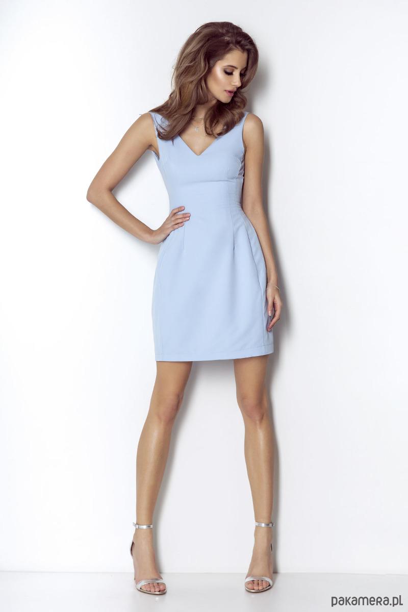 Sukienka April-błękitny