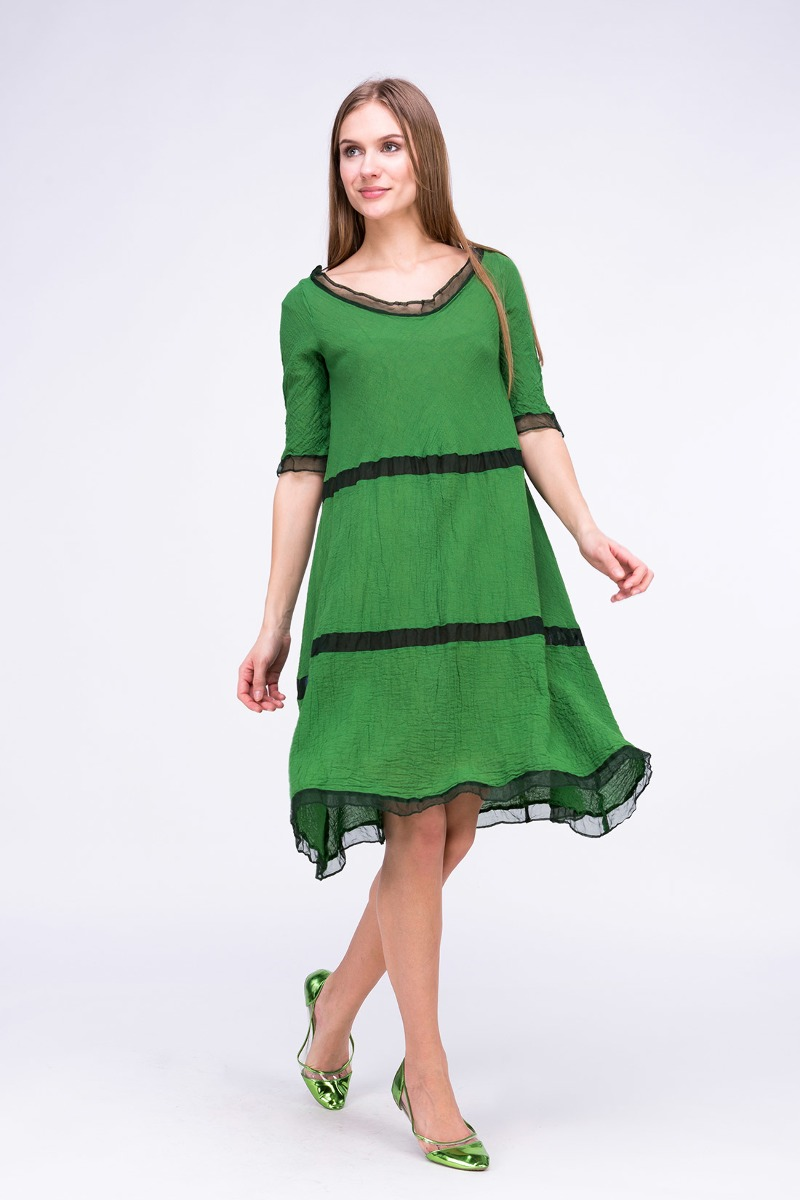 SukienkaPOULE CT Zielona