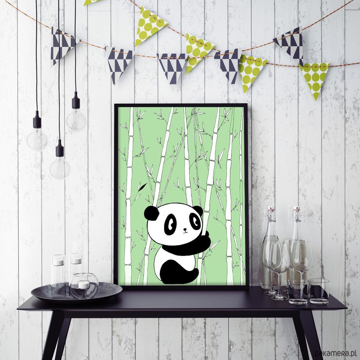 Panda A4 - pokój dziecka - obrazy i plakaty GKgSWyhf