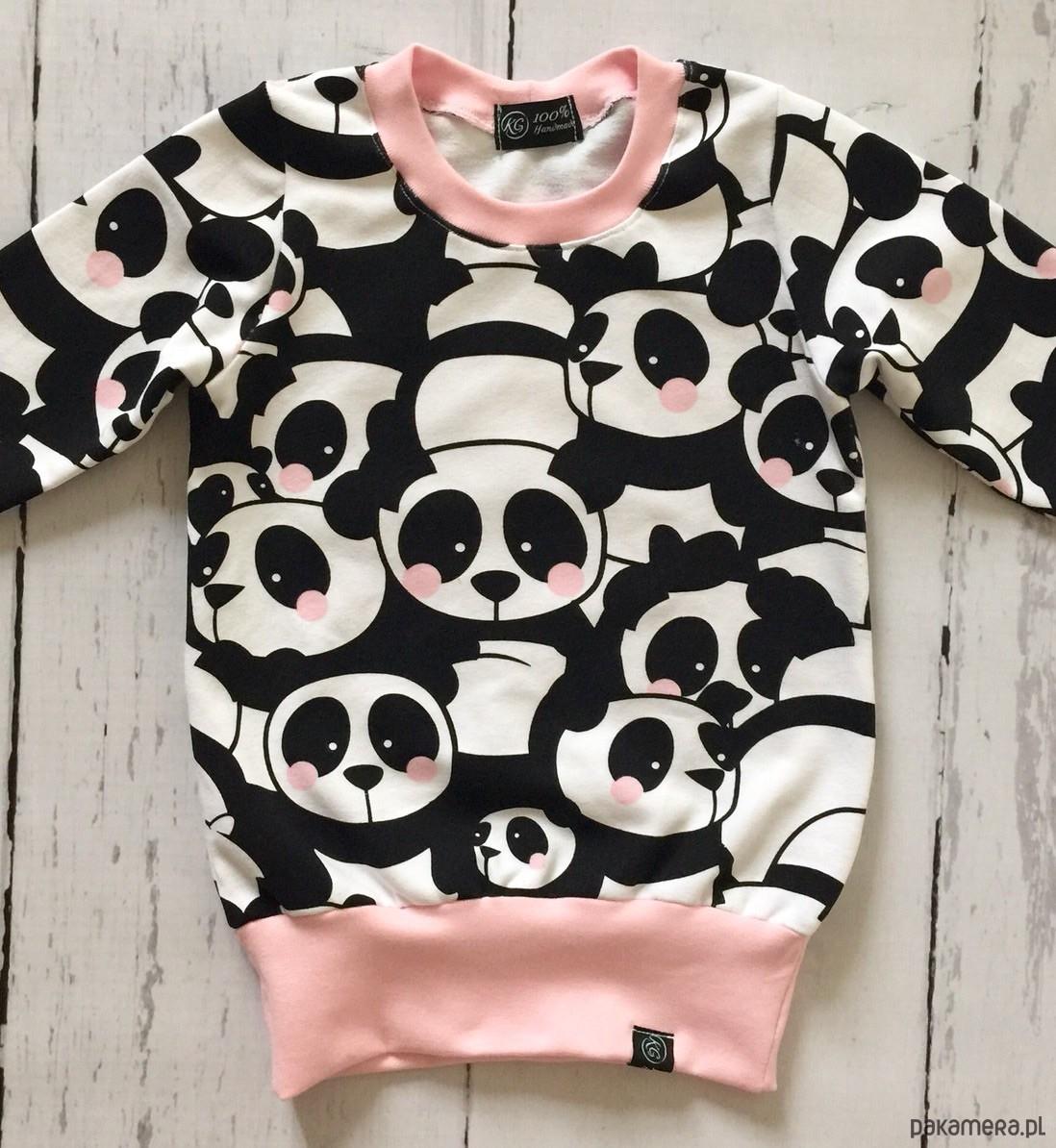 Bluza, tunika w pandy