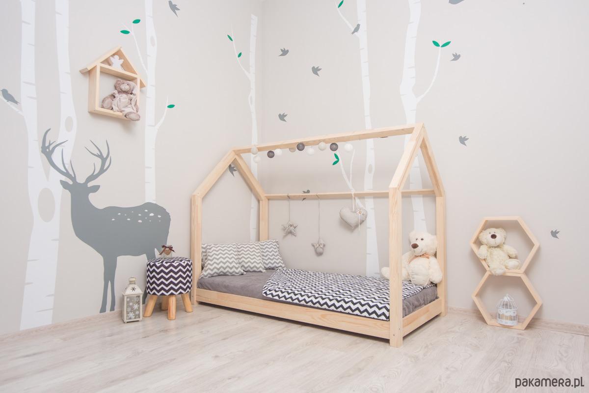 łóżko Domek Dla Dzieci Styl Skandynawski Pakamerapl