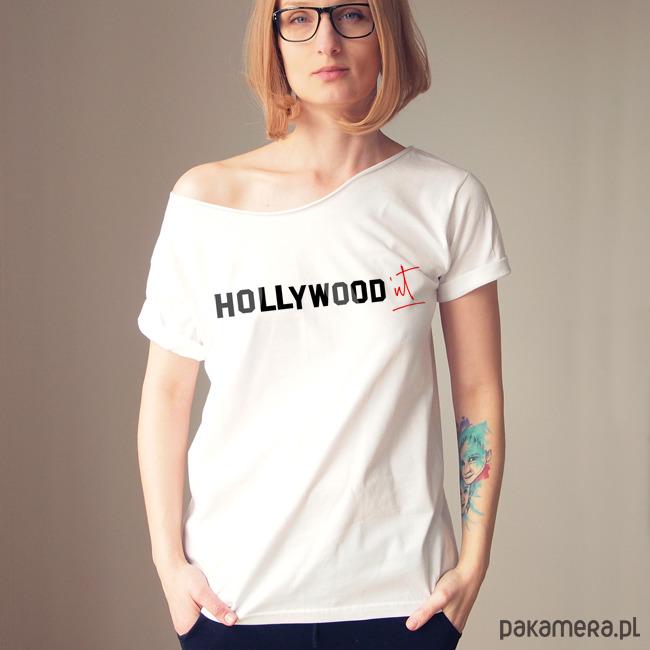 S-XXL Hollywood'nt biały Oversize