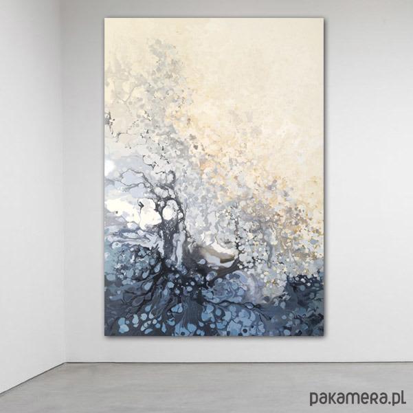 Płótno 100x140cm Obraz Farbami Akrylowymi Malarstwo Pakamerapl