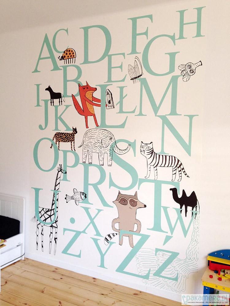 Dodatkowe tapeta na ścianę - dziecko - tapety i naklejki - Pakamera.pl XA41