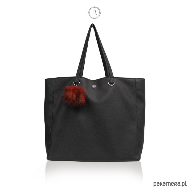 a876262cfcfbc1 Torba XL BLACK SAPPORO - torba miejska shopper - torby XXL - damskie -  Pakamera.pl