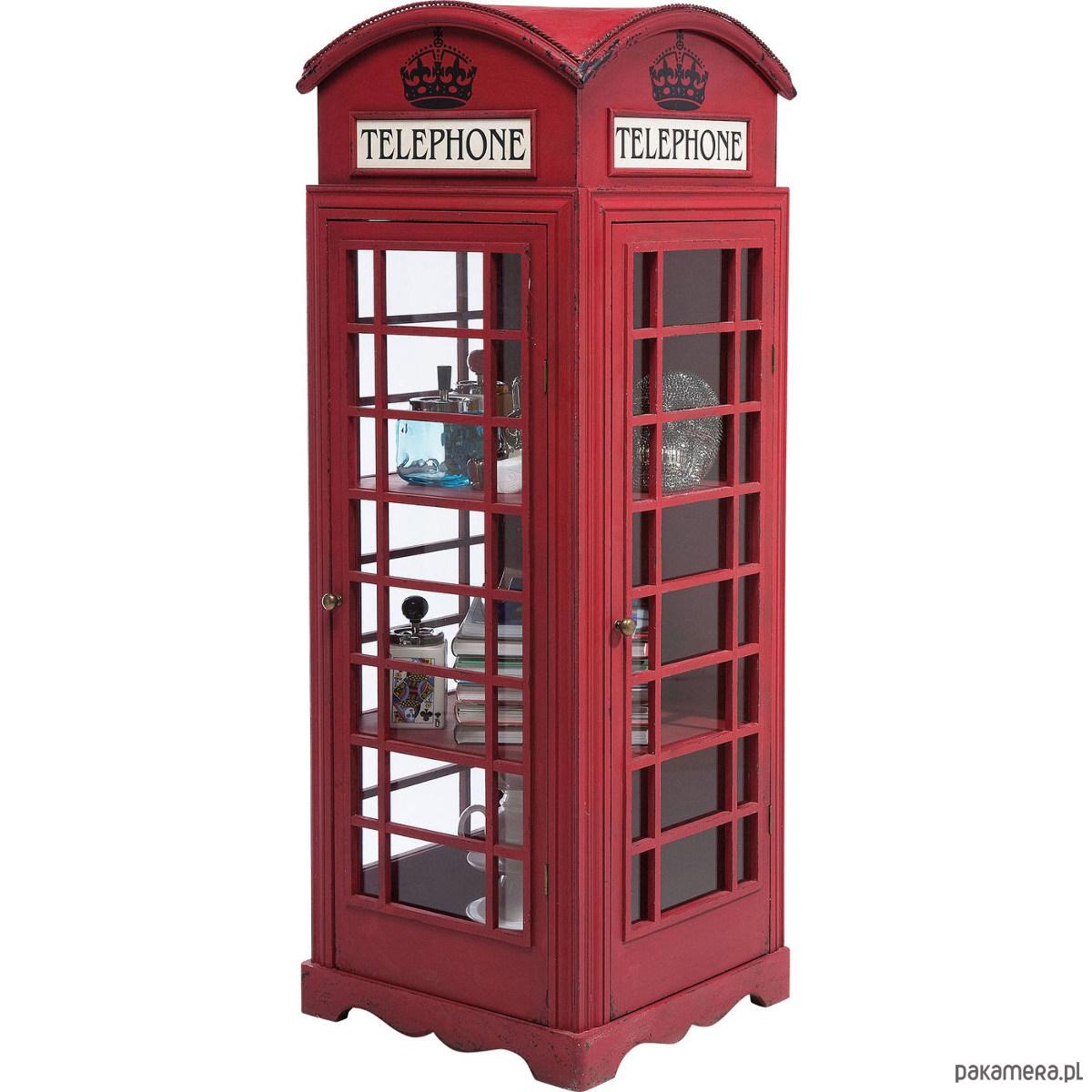 Poważnie Witryna Barek londyńska budka telefoniczna - meble - komody i MB42