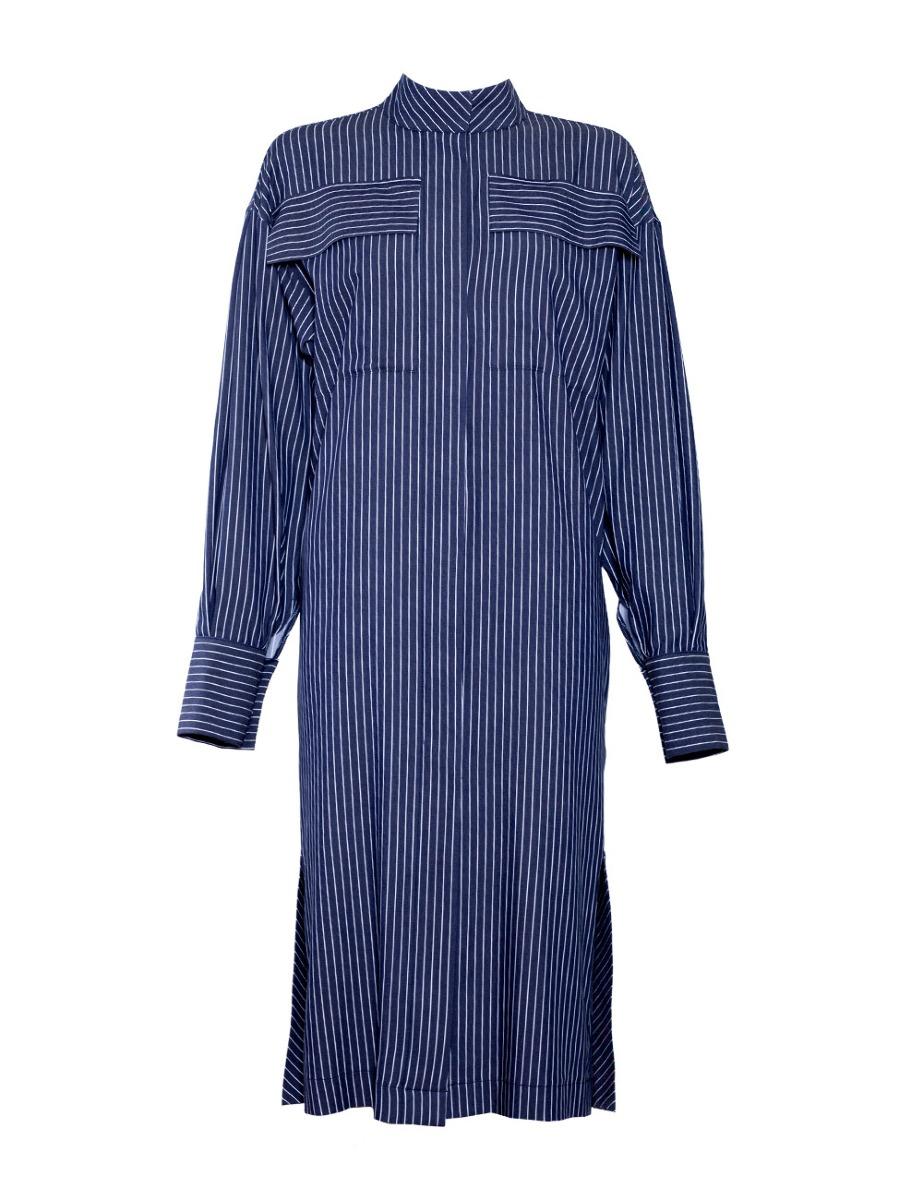 Sukienko-płaszcz HANNAH w paski