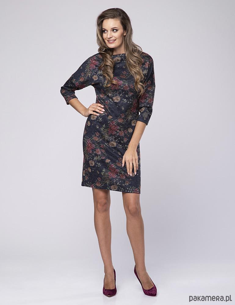 a1b68a06f0 Sukienka Fiore LOOK - sukienki - midi - Pakamera.pl